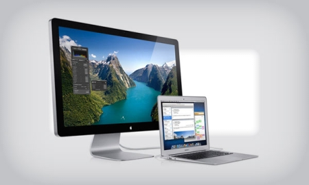 Apple Launches World's First Thunderbolt Display