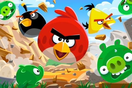 Angry Birds flying to theaters in 2016