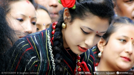 My Photography:  Pretty Newari Girls