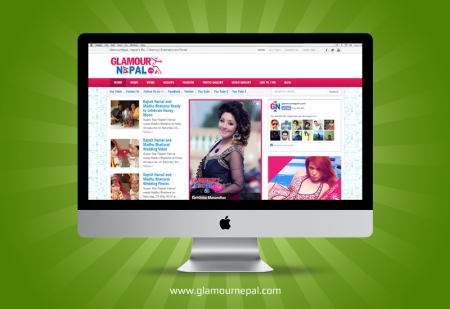 Glamour Nepal, Entertainment Portal