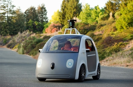 Google's New Car Doesn't Have a Steering Wheel