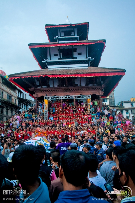 19 - People Crowd - Indra Jatra